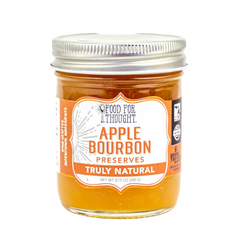 Truly Natural Apple Bourbon Preserves