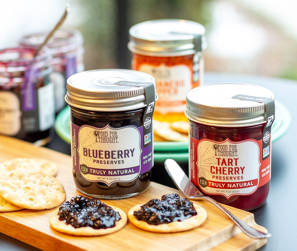 Food for Thought Award-winning Preserves