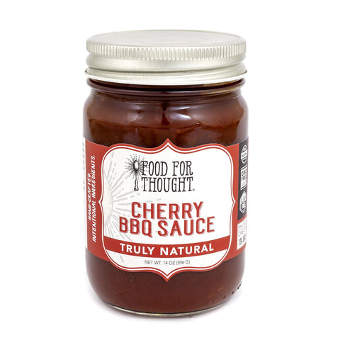 Image of Food for Thought Truly Natural Cherry BBQ NEW RECIPE