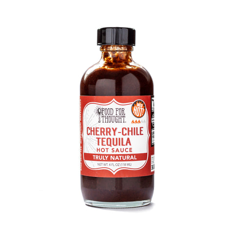 Cherry-Chile Tequila Hot Sauce