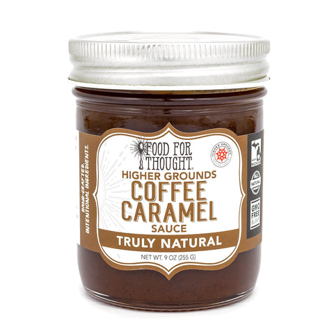 Truly Natural Coffee Caramel Sauce