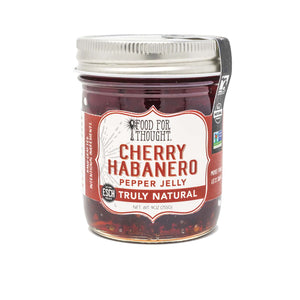 Truly Natural Cherry Habanero Pepper Jelly