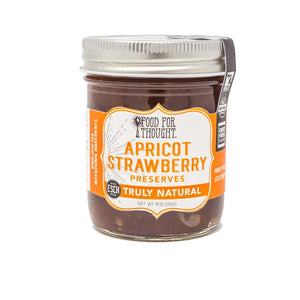 Truly Natural Apricot Strawberry Preserves