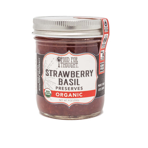 Image of Organic Strawberry Basil Preserves