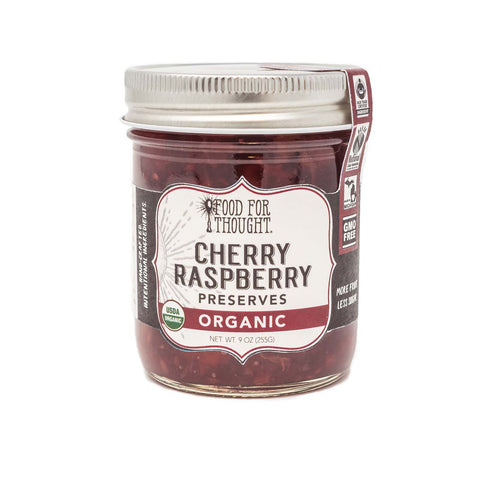 Image of Organic Cherry Raspberry Preserves