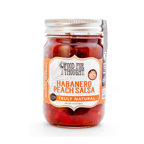 Image of Truly Natural Habanero Peach Salsa
