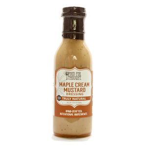 Truly Natural Maple Cream Mustard Dressing
