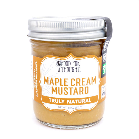 Truly Natural Maple Cream Mustard