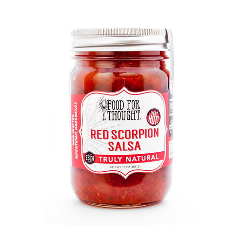 Image of Truly Natural Red Scorpion Salsa