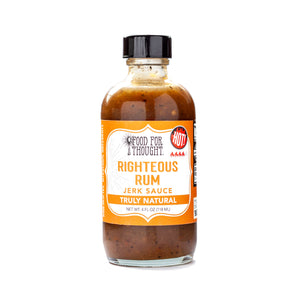Food for Thought Truly Natural Righteous Rum Jerk Sauce