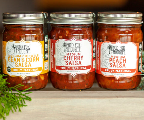 Image of Food for Thought Best-Selling Salsa Trio