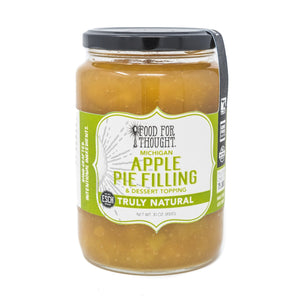 Truly Natural Michigan APPLE PIE FILLING & DESSERT TOPPING