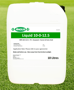 Angus Turf Care 10-0-12.5 and Humates 10L