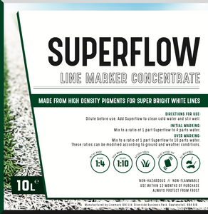 Linemark Superflow Concentrate 10lts (spray marker)