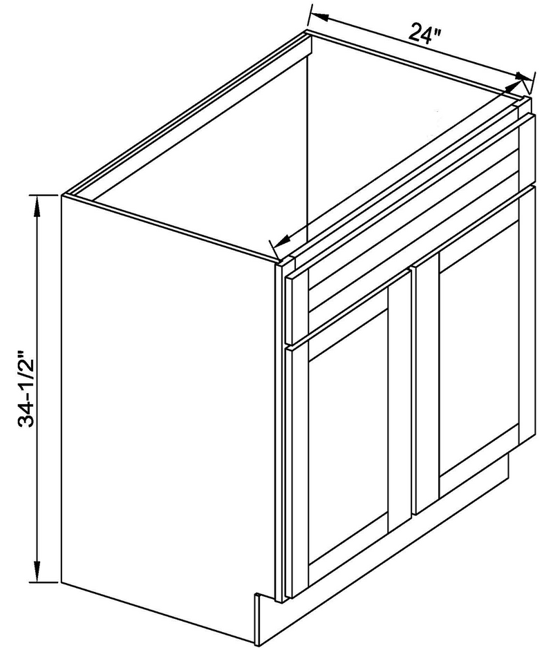 WALL END SHELF