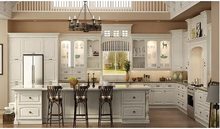 NOBLE WHITE KITCHEN CABINETS
