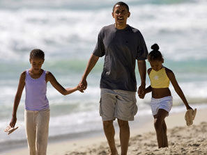 The First Family Comes To Martha's Vineyard