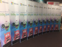 Banner Stands - Trade Show Signs - Canopies Design 3