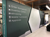 Banner Stands - Trade Show Signs - Canopies Design 6