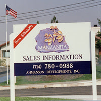 Site Signs - Wood Signs - Sandblasted Signs Design 10