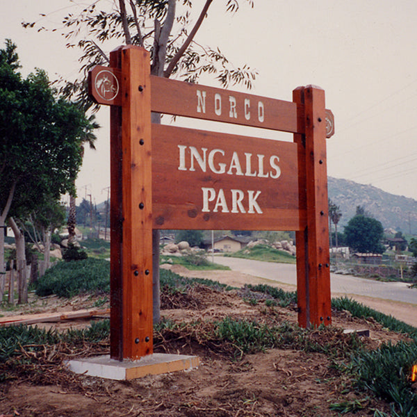 Site Signs - Wood Signs - Sandblasted Signs Design 13