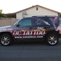 Vehicle & Boat Graphics - Wraps Design 1