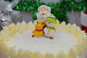 Open image in slideshow, Christmas White Ondeh-Ondeh Cake