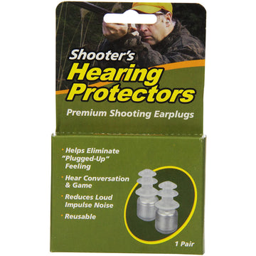 Acu-Life® Shooter's Aid Ear Plugs (NRR 18)