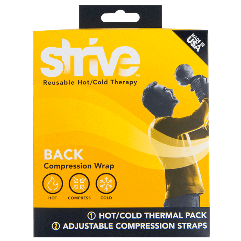 Strive Hot & Cold Compression Back Wrap box front