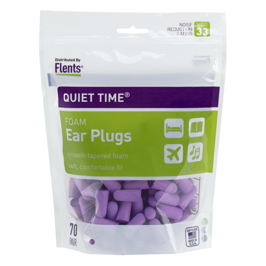 Quiet Time® Soft Comfort Ear Plugs (NRR 33)