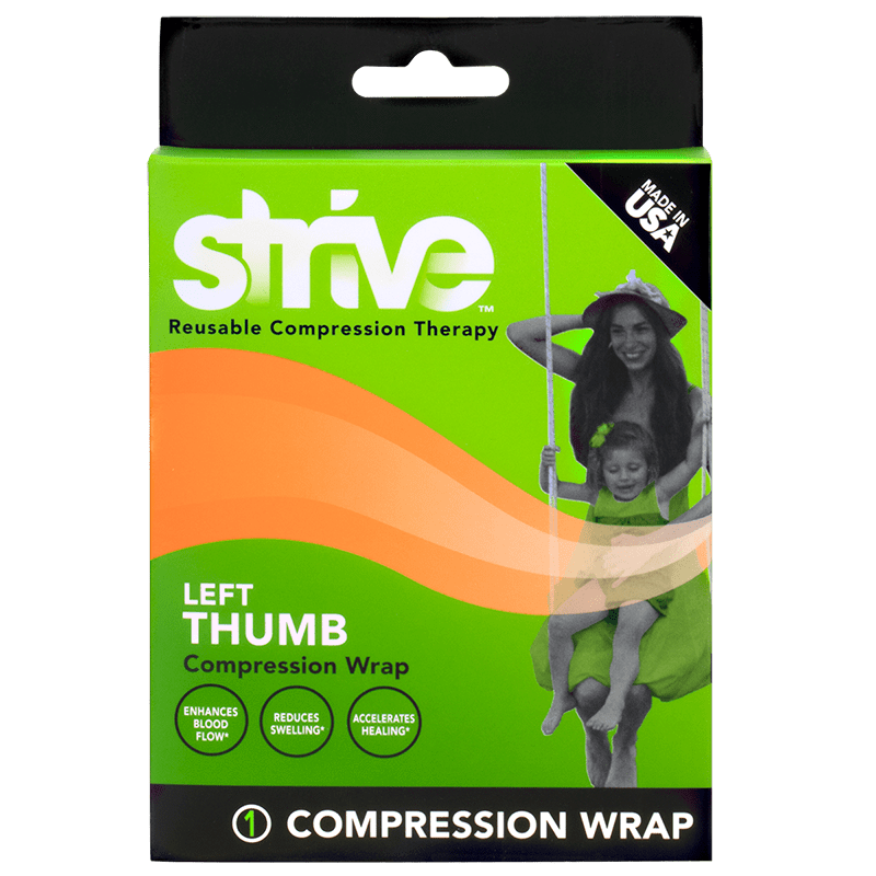 How to use Strive Left Thumb Compression Wrap