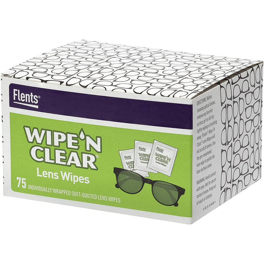 Box of Lens Wipes for cleaning glasses