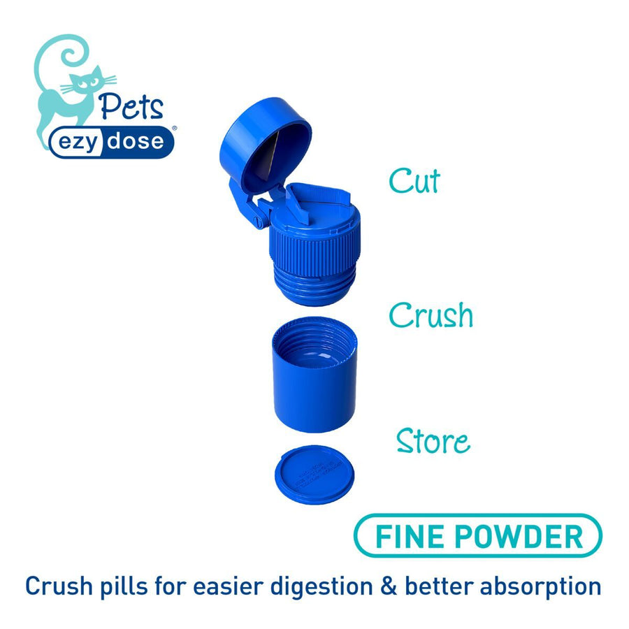 Ezy Dose® Cat Bundle | 7-Day Pill Organizer, Crusher and Cutter