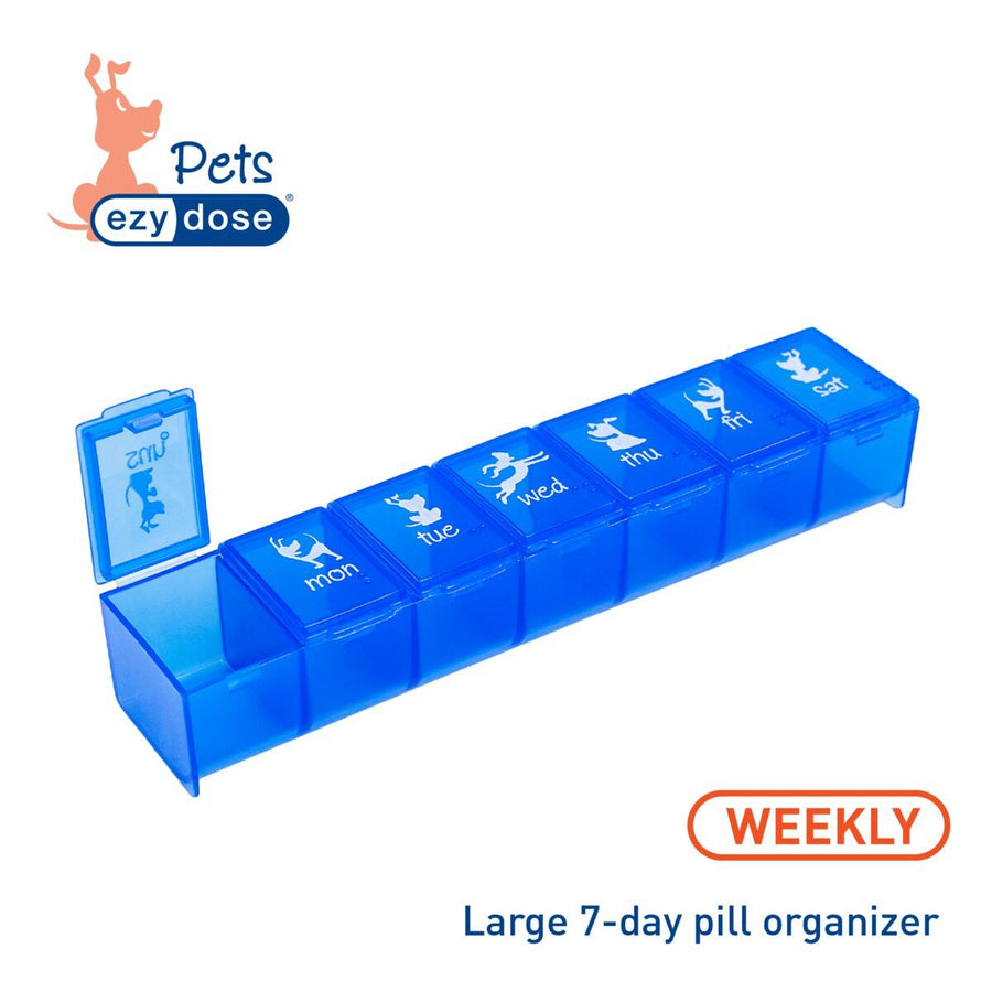 Ezy Dose® Dog Bundle | 7-Day Pill Organizer, Crusher and Cutter