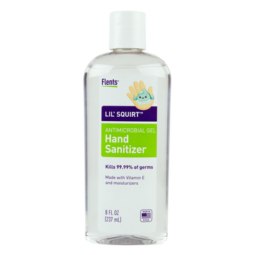 Flents® Lil' Squirt™ Hand Sanitizer Gel - 8.0 oz (Case of 24)