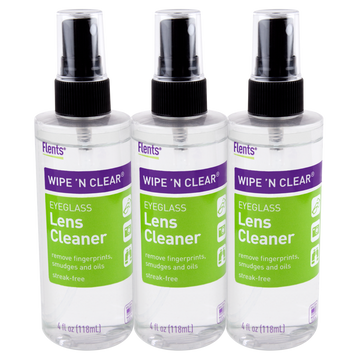 Flents® Wipe 'n Clear Spray Lens Cleaner, 4 fl oz - 3 pack