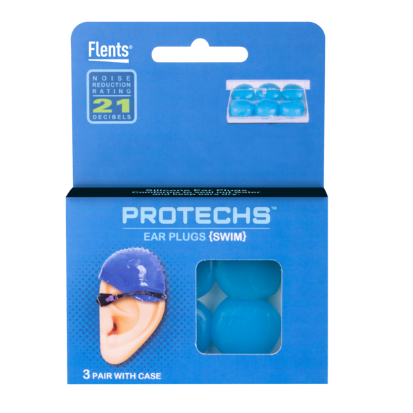 PROTECHS™ Ear Plugs for SWIM package