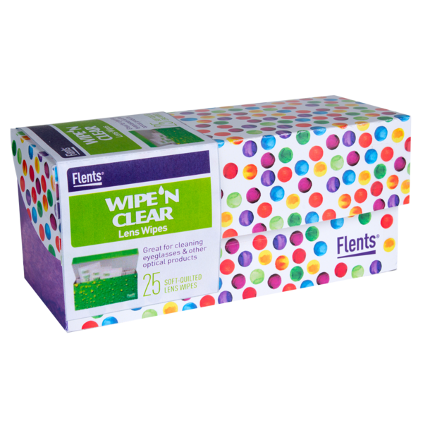 Flents® Wipe 'n Clear® Lens Wipes