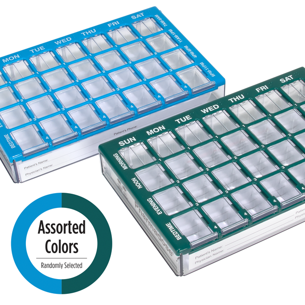 Maxi-Pharmadose Pill Planner in Assorted Colors