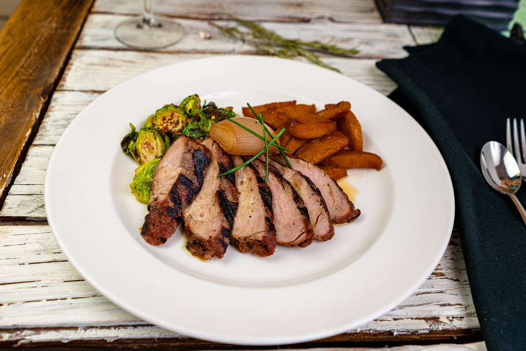 Applewood Grilled Pork Tenderloin
