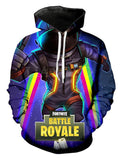 Long Sleeve Fortnite Battle Royale Graphic Hoodie
