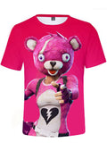 Fortnite Cuddle Team Leader Casual Summer T Shirt