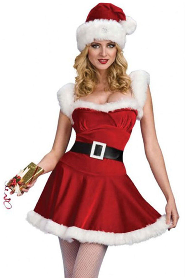 Sexy Santa Baby Costume For Women