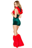 Sexy Backless Santa Helper Costume