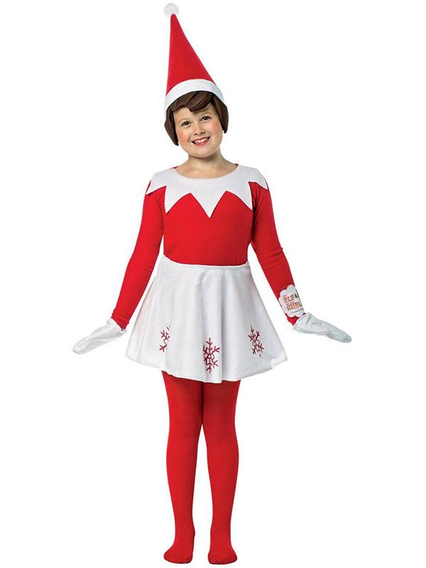 Elf On The Shelf Costume Holiday Family Costume
