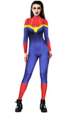 Women Sexy Superhero Bodysuit Halloween Costume