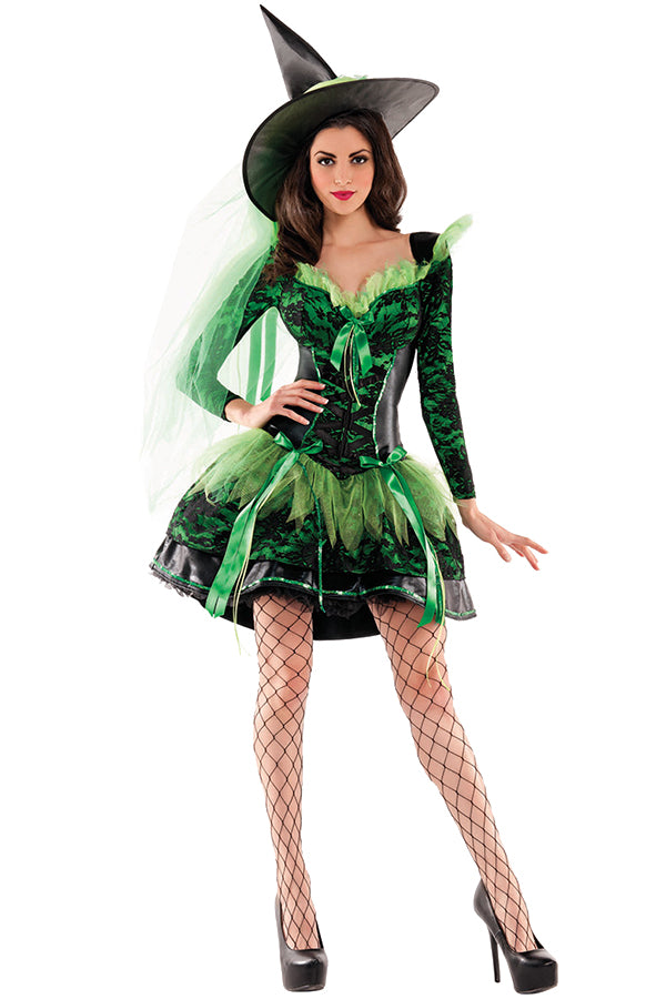 Emerald Wicked Witch Body Shaper Costume