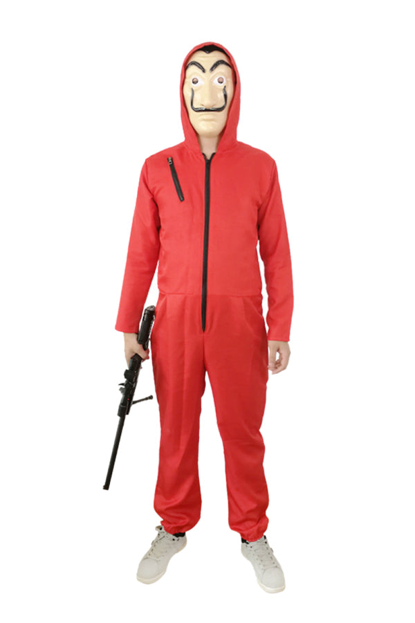 Adult Money Heist Dali Halloween Costume