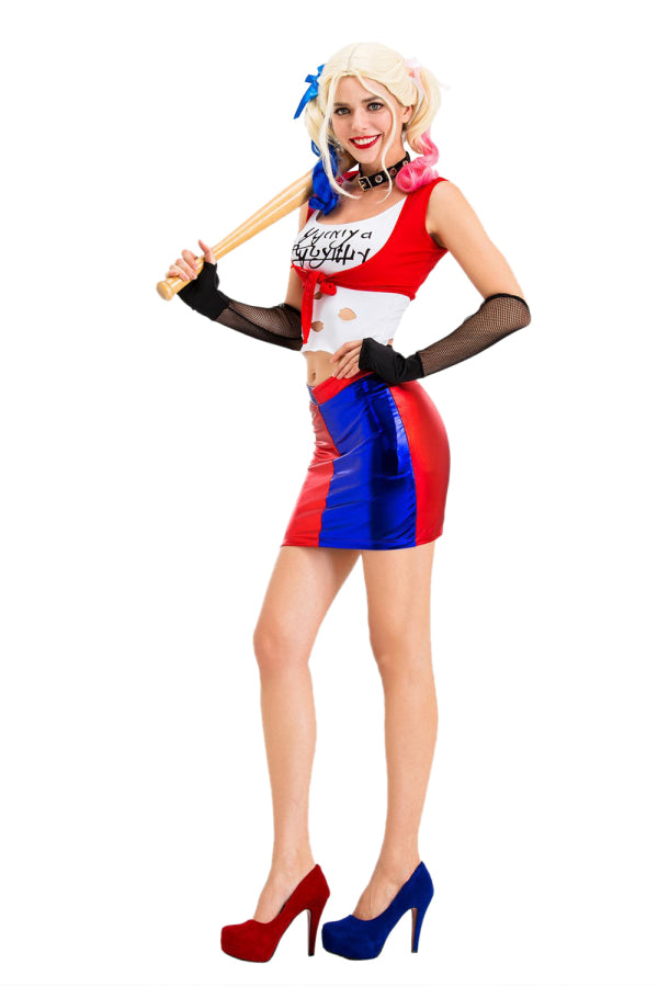 Sexy Harley Quinn Halloween Costume