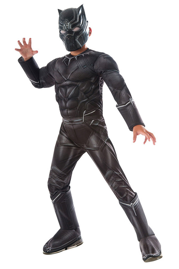 Halloween Black Panther Costume For Boys